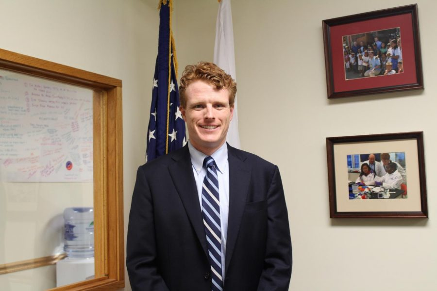 Joseph+P.+Kennedy+III+is+the++congressman+for+the+4th+district+of+Massachusetts.