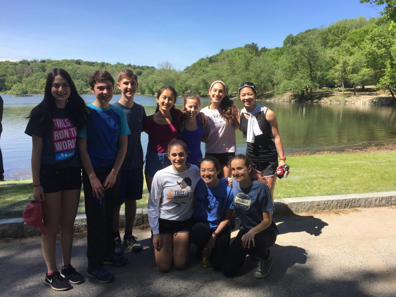 Last year, the GirlUp club hosted an event at Jamaica Pond to raise money for the global GirlUp campaign.