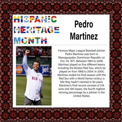 Hispanic Heritage Month: Pedro Martinez