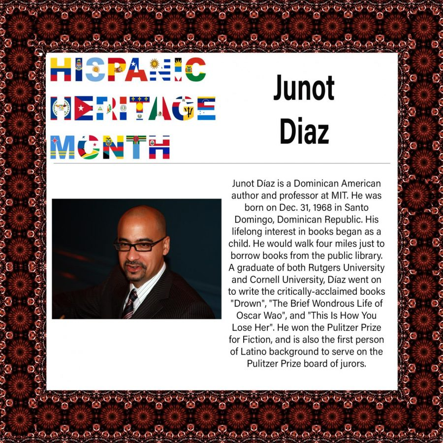 Hispanic+Heritage+Month%3A+Junot+Diaz
