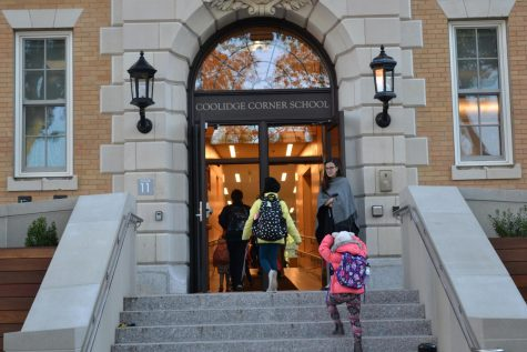 Students at Coolidge Corner School reflect on changes