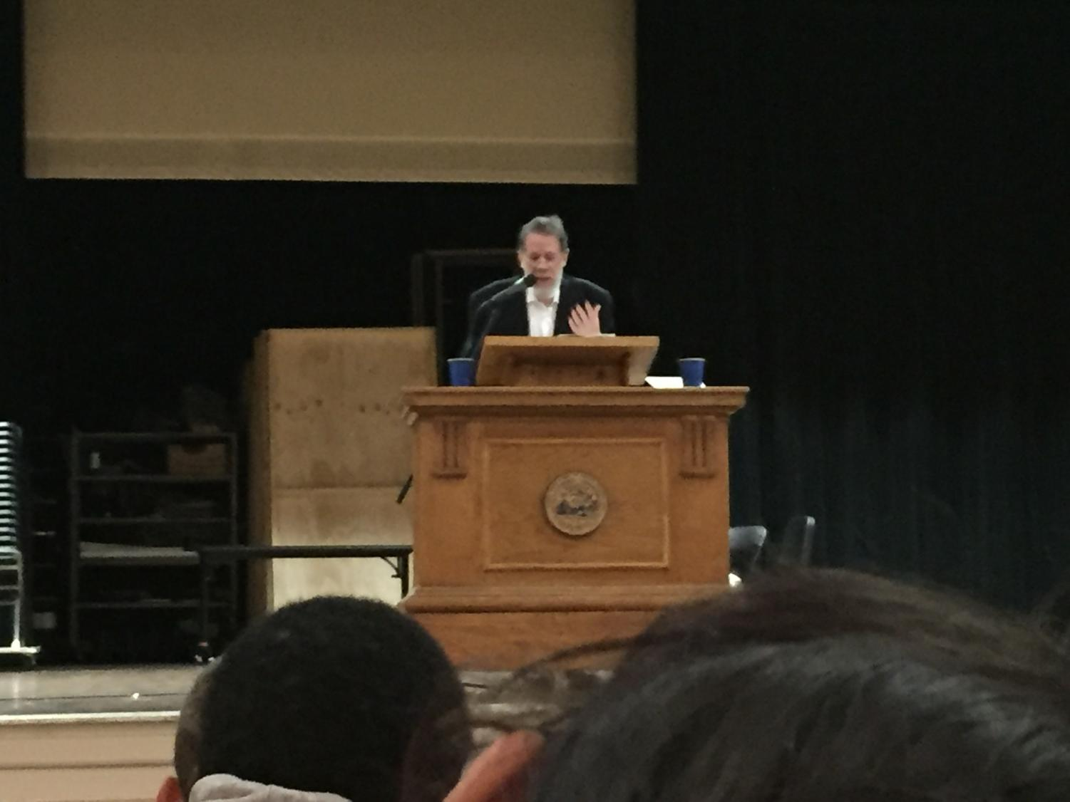 Poet Martin Espada left a lasting impression on students who heard his poetry on Oct. 12.