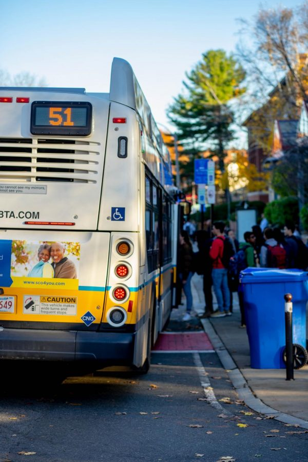 Certain students have expressed displeasure with changes made to the South Brookline bus, which include the institution of a bus fee.