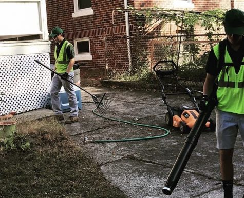 Student-run landscaping company contributes to community