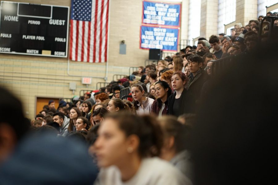 Students+listen+intently+to+the+speakers+at+the+Martin+Luther+King+Jr.+Day+assembly+held+on++Jan.17.