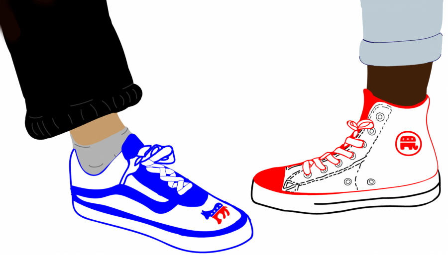 School Within a School often markets itself as anti-conformist, but the hive mindset establishes certain opinions (and shoes) as acceptable while others are suppressed.