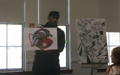 Comic book illustrator Robert Stull '85 has not only created content for Marvel and DC comics, but he has also founded his own comic book, magazine and print-based media studio, Ink on Paper.