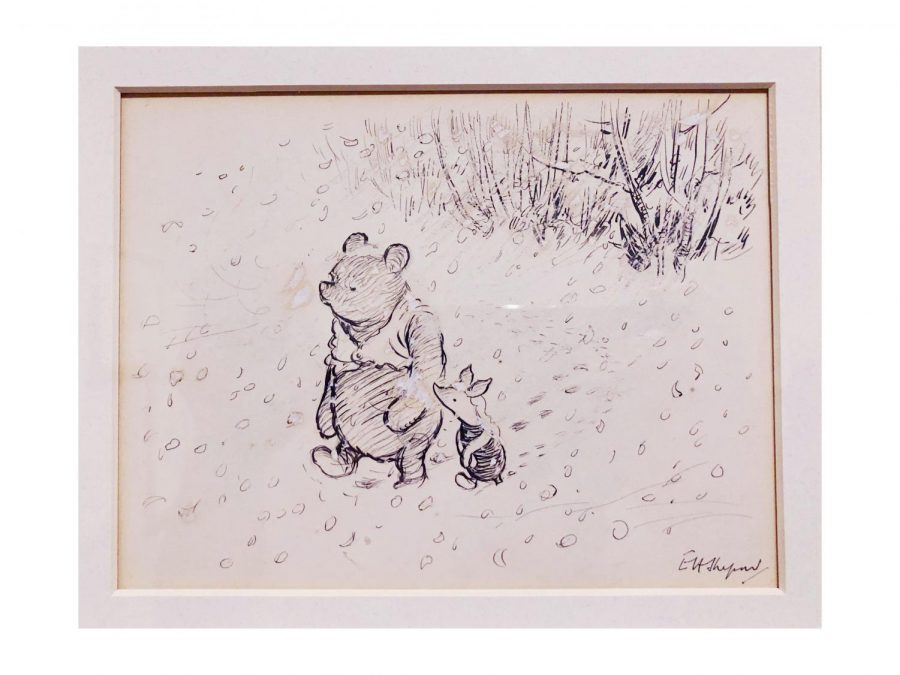 The MFA's exhibit uses original drawings, letters, photographs and more to transport museum-goers into the land of A.A. Milne's story.