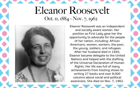 Eleanor Roosevelt – Women's History Month