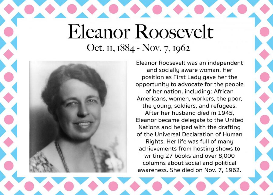 Eleanor Roosevelt - Women's History Month
