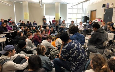 Young Republicans Club and Students Against Institutional Racism debate affirmative action