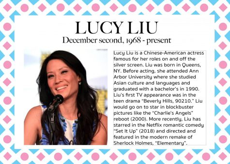 Lucy Liu – Women's History Month
