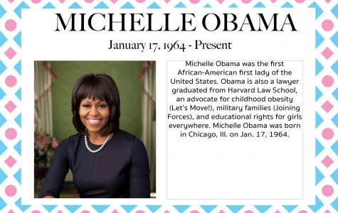 Michelle Obama – Women's History Month