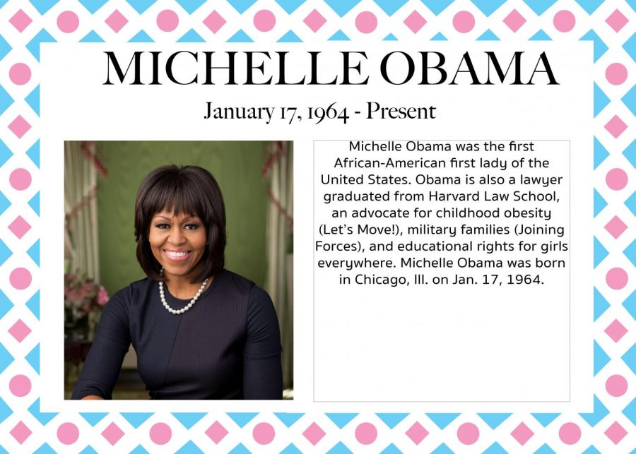 Michelle Obama - Women's History Month