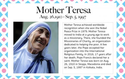 Mother Teresa – Women's History Month