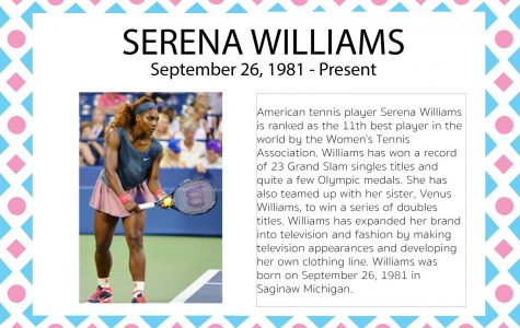 Serena Williams – Women's History Month