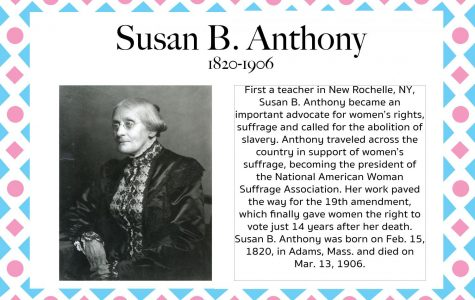 Susan B. Anthony – Women's History Month