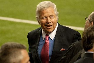 Community grapples with Robert Kraft's alleged crimes and his donation to the school