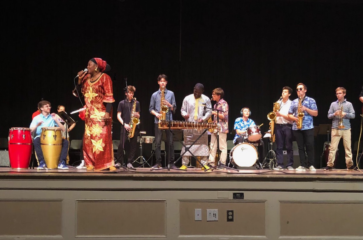 The Música y Cultura performance took place on May 31, 2019 in the Roberts-Dubbs Auditorium. The show featured lively music and dance originating from Latin American, Caribbean and African culture.