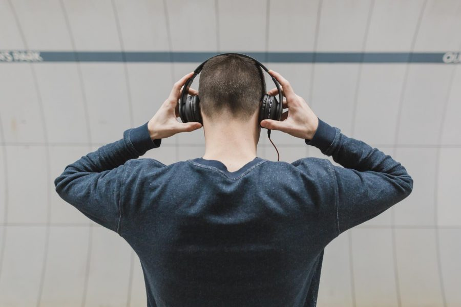 Students are now prohibited from having headphones within a three-foot radius of their body.