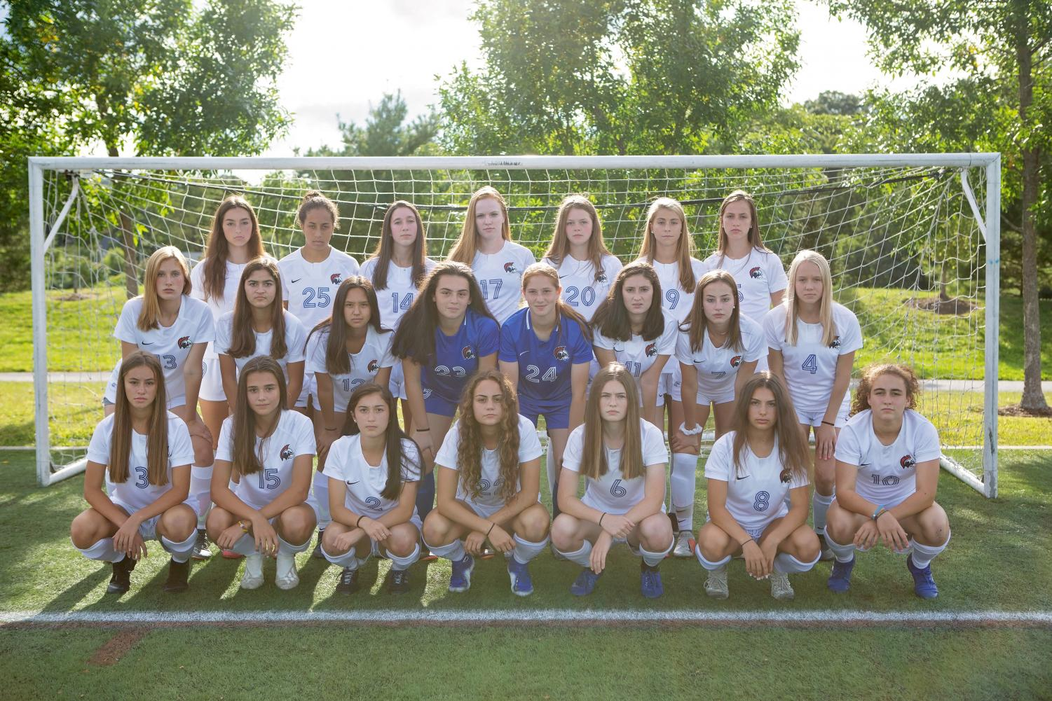 The Boston Globe has ranked the girls varsity soccer team as number one in Massachusetts. The team has persevered through injuries to find success.