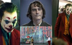 Actor Joaquin Phoenix masterfully plays the vintage villain as a mentally-ill psychopath, but Phoenix's performance is overshadowed by poor writing and underdeveloped themes.
