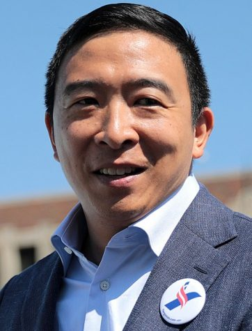 Andrew Yang has been overperfomlng in national polls thus far, as well as in the Sagamore