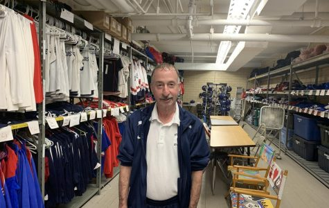 Lofchie, who is in his 24th year at the high school, continues to supply teams with any uniforms and equipment they need.