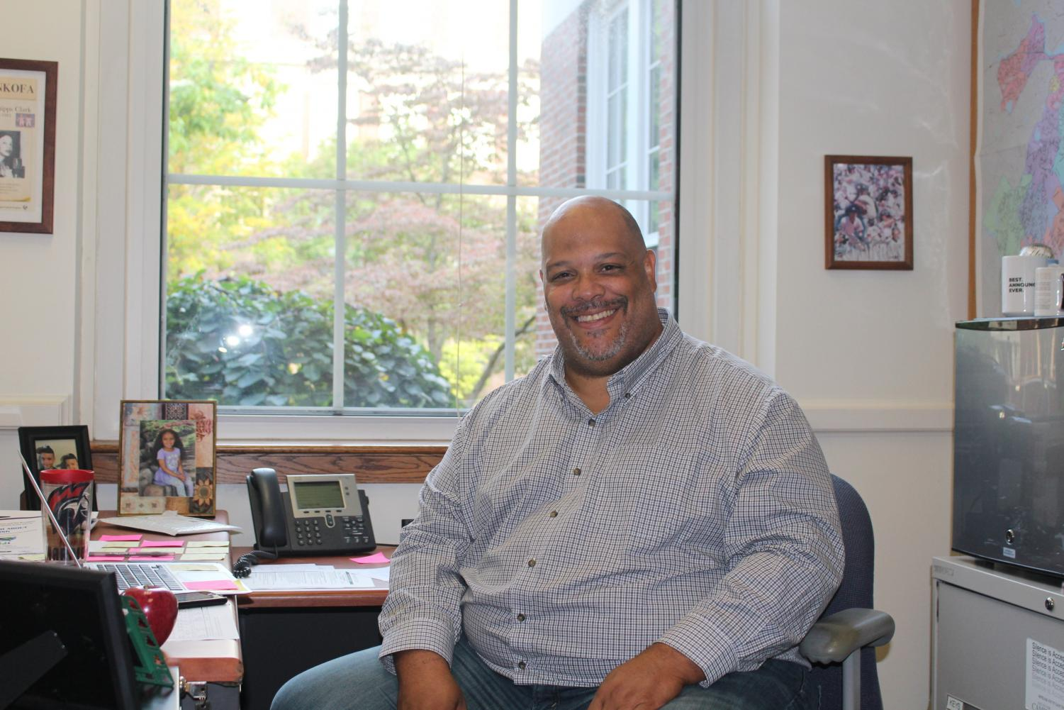 J. Malcolm Cawthorne said he looks forward to forming bonds with his students. Cawthorne has worked in the social studies department for many years and is now the METCO coordinator.