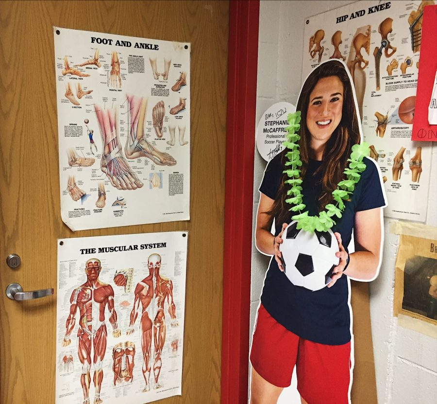 Athletes often spend time with Jzyk while recuperating or preparing for competition. Recovery activities include strength training and ice baths.