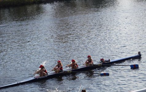 Crew team competes in the Head of the Charles Regatta