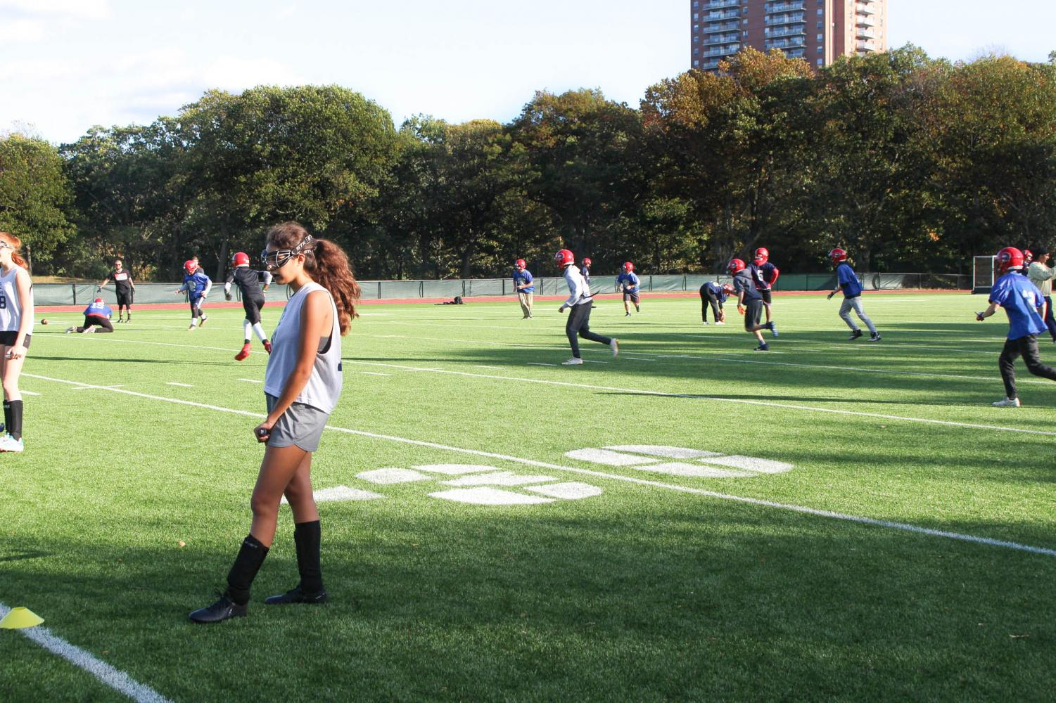 The girls field hockey game against Newton North on Tuesday Oct. 15 was moved to Fisher Hill. The boys football