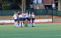 The field hockey team has done better in their games this year, but still hopes to keep improving.