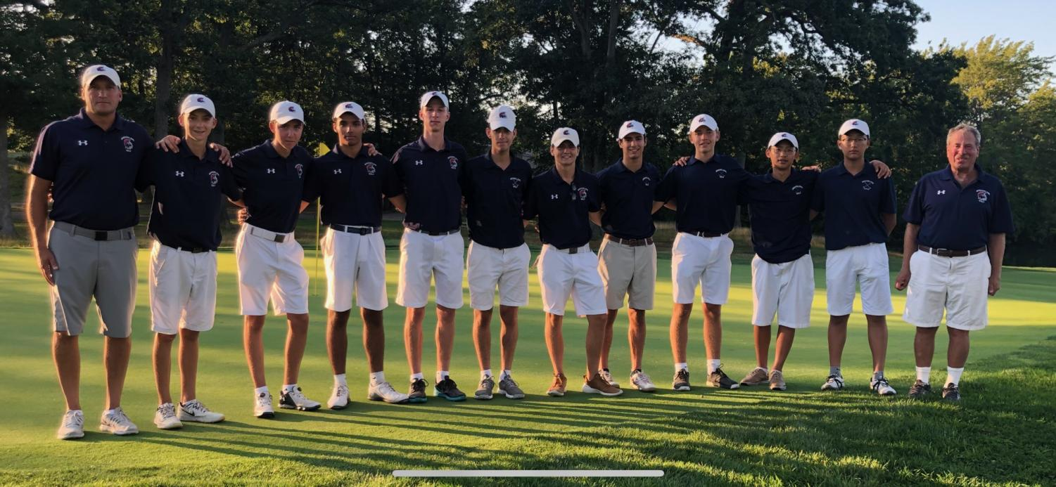 The golf team has found a lot of success this year, which they attribute to the team's relaxed, friendly atmosphere.