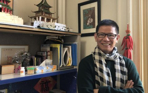 Fu Tseng Chang was recently named the Massachusetts Foreign Language Council 2019 Chinese teacher of the year. According to Chang, this award is thanks to his students.