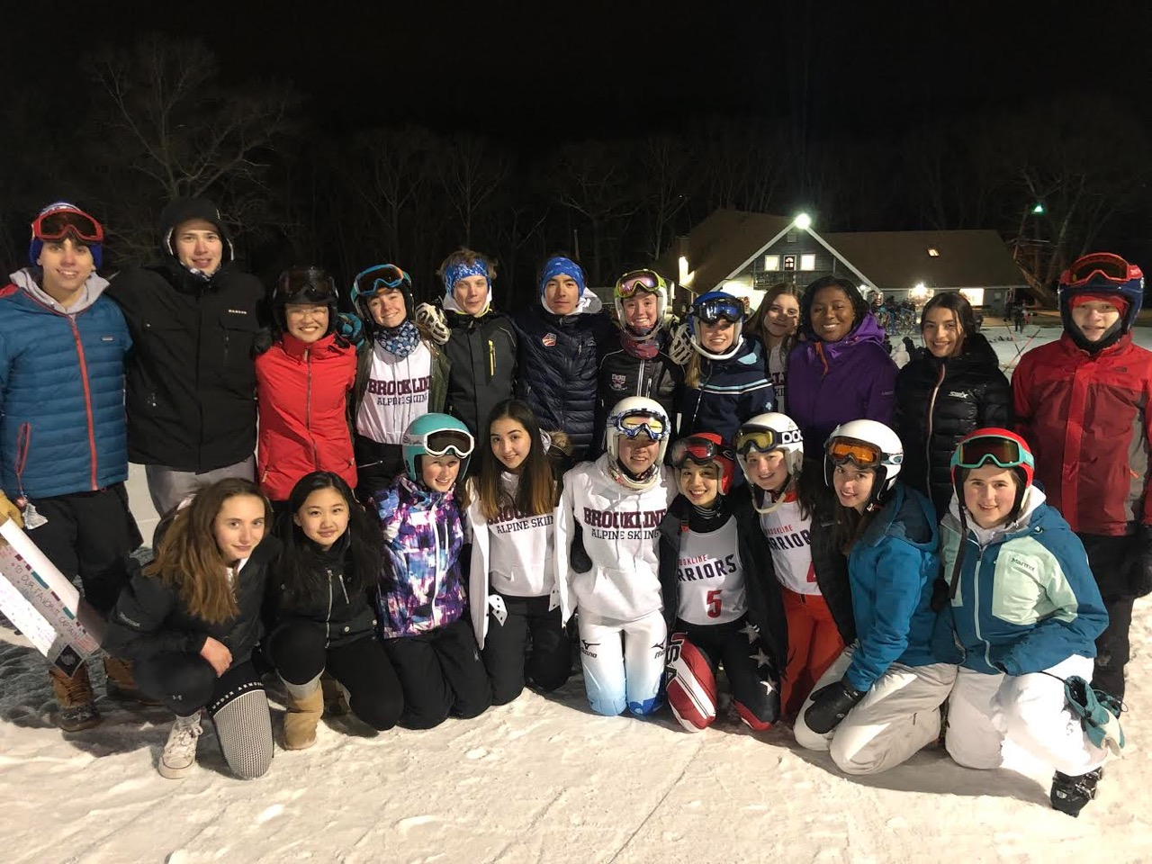 Alpine ski captains and juniors Kota Tsukada and Lucia Lobon have helped their teammates be productive with school work before competitions and practices.