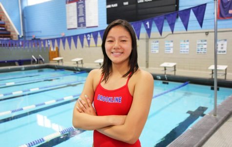Freshman Hannah Lee broke three swimming records this fall season. She hopes to qualify for more high level competitions to further showcase her talent.