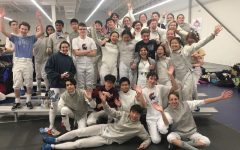 Fencing team offers a focused and stress-free environment