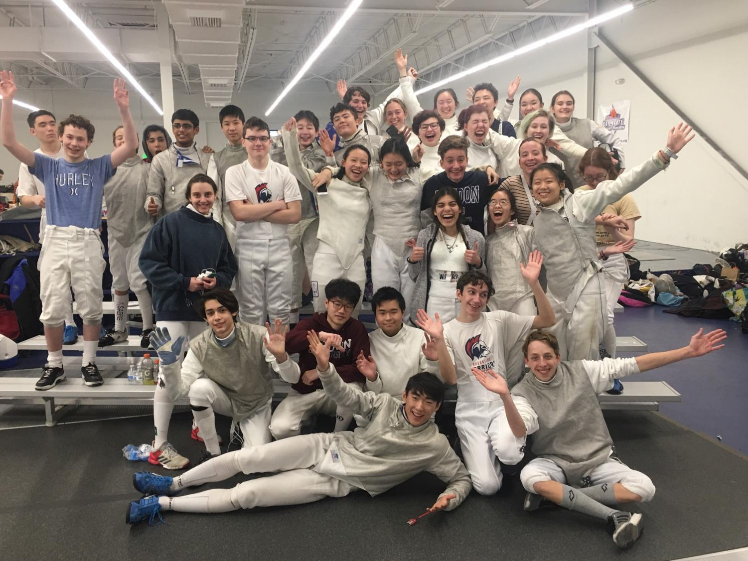 The fencing team focuses on team spirit and supporting each Other. Senior Kaesha Marantz said the team is special since it prioritizes relationships between fencers.