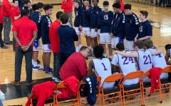 Boys basketball team copes with loss of seniors