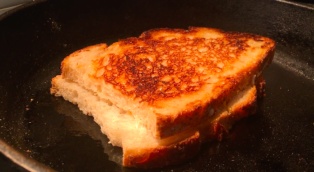 How-To: 3 Cheese Grilled Cheese