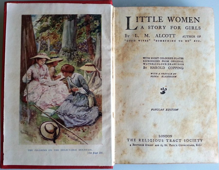 A+copy+of+the+%22Little+Women%22+book%2C+published+in+1868.+The+book%27s+plot+and+themes+remain+relevant+today.+
