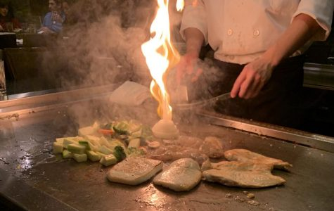 Osaka's option for hibachi makes for a unique and interactive dining experience.