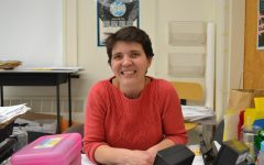 Leslie uses past experience to enrich teaching