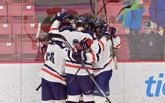 Boys varsity hockey team moves on to playoffs