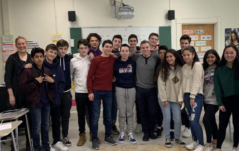 Students inspired by Asking for Courage Day started the Student Athletes Fighting Racism in Sports (SAFRIS) Club to have discussions and take action against racism in high school sports.