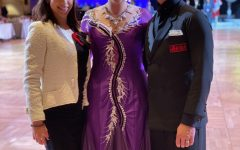 Grieco expresses herself through competitive ballroom dancing