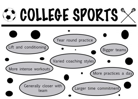 College sports offer distinct challenges and benefits