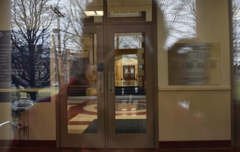 Brookline High School is closed until March 27. Teachers were allowed to be in the building on Friday, March 13 to bring home belongings.