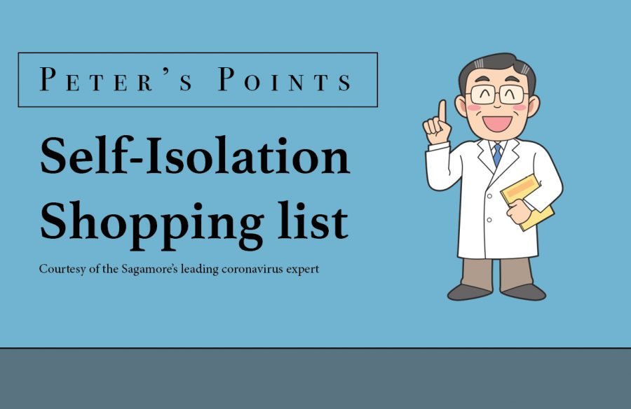 How to properly stock up for self-isolation